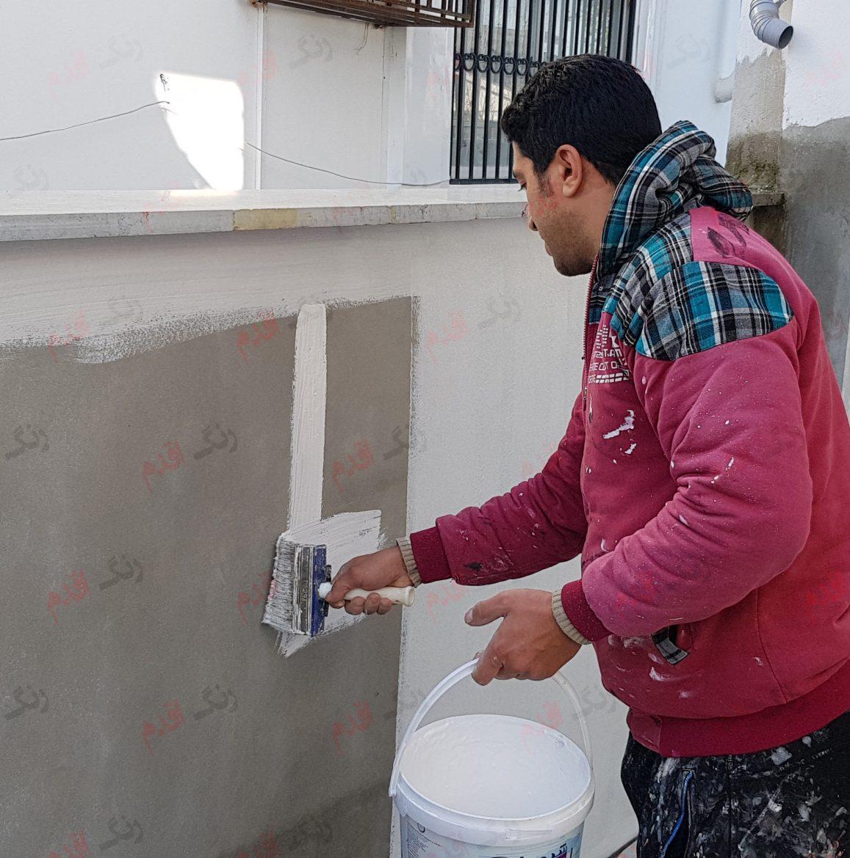 آموزش اجرای رنگ آمیزی دیوار